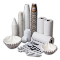 Cups, Utensils & Paper Products